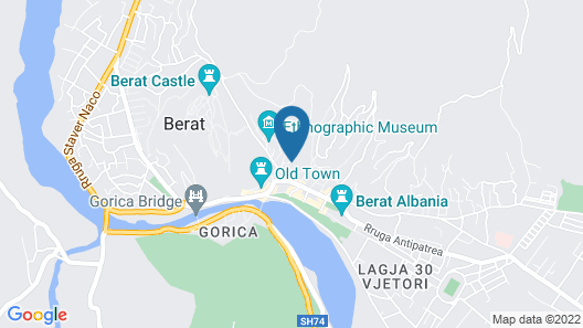 Hotel Rezidenca Desaret Map