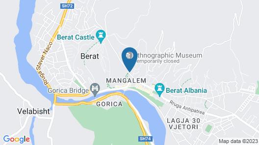 Hotel Onufri Map