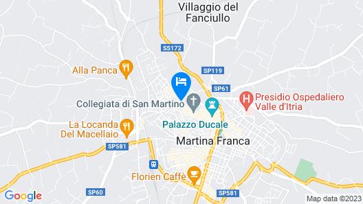 Relais Santa Maria Map