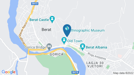 House With 2 Bedrooms in Berat, With Wifi Map