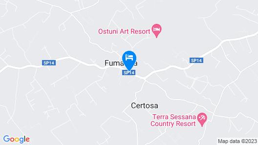 Villa Fumarola Map