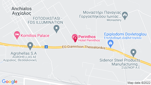 Perinthos Map