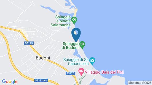 Stella Marina Camere sul mare Map