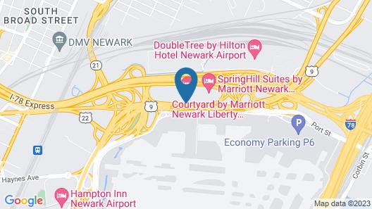Courtyard by Marriott Newark Liberty International Airport Map