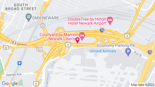 Fairfield Inn & Suites Newark Liberty International Airport Map