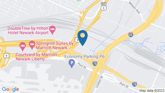 Howard Johnson Hotel by Wyndham Newark Airport Map