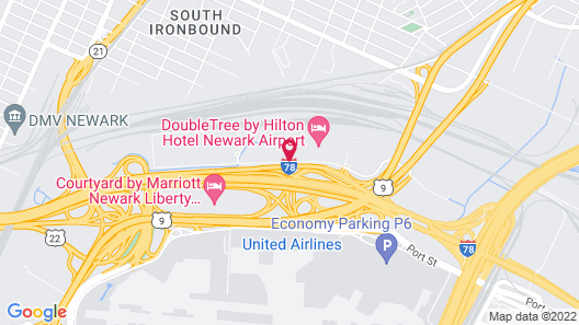 Holiday Inn Newark Intl Airport - North, an IHG Hotel Map