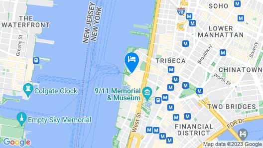 Conrad New York Downtown Map