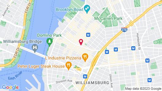 Pod Brooklyn Map