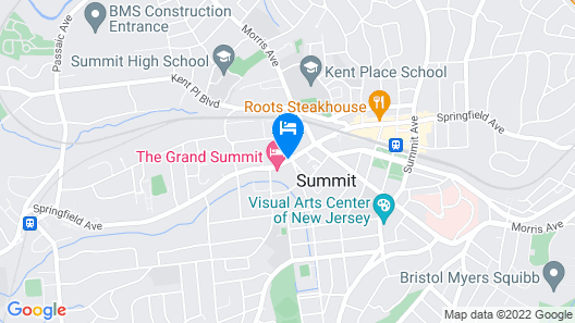 The Grand Summit Hotel Map