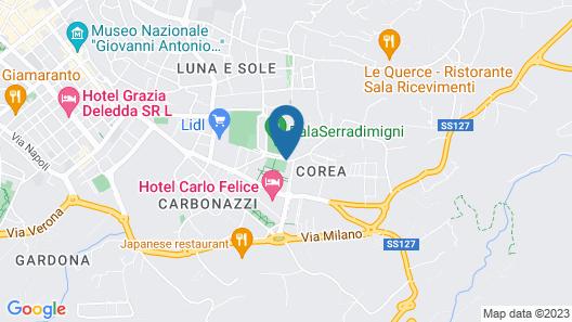 Hotel Marini Map