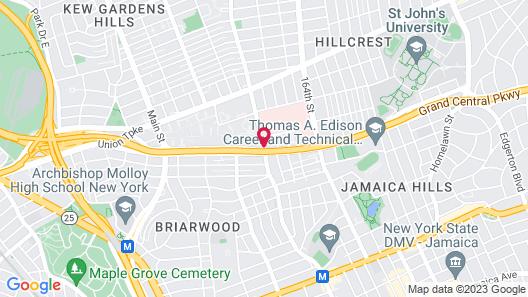 Par Central Motor Inn Map