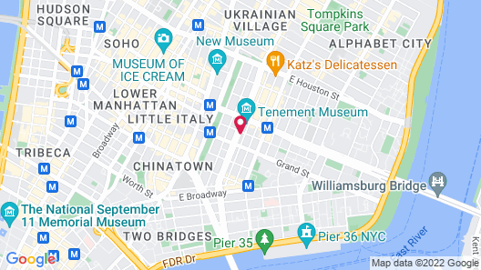 The Allen Hotel Map