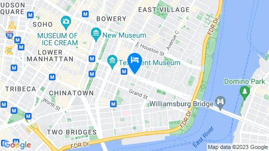 Holiday Inn NYC - Lower East Side, an IHG Hotel Map