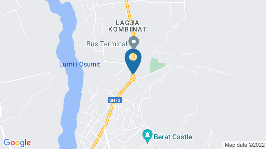 Hotel Belagrita Map