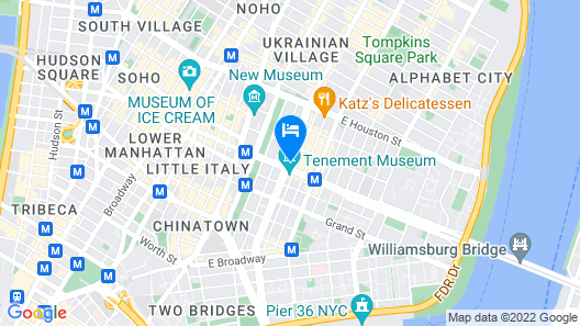 Sago Hotel Map
