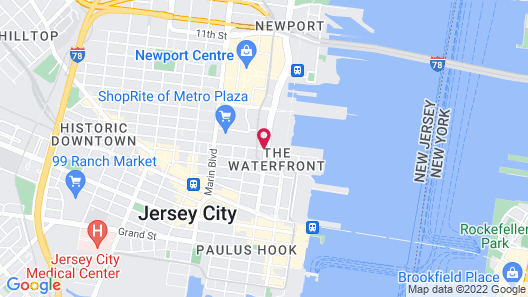 Lotus Jersey City Map