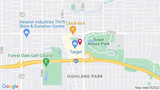SpringHill Suites by Marriott Salt Lake City Sugar House Map