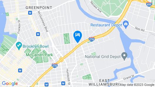 Brooklyn Rentals Map