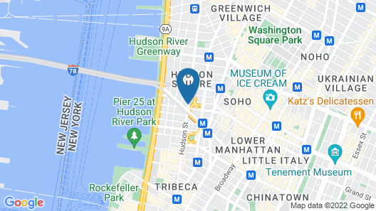 Arlo SoHo Map