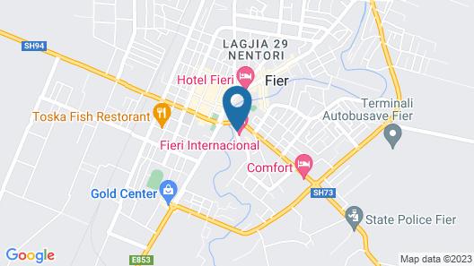 Hotel International Map