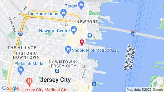The Westin Jersey City Newport Map