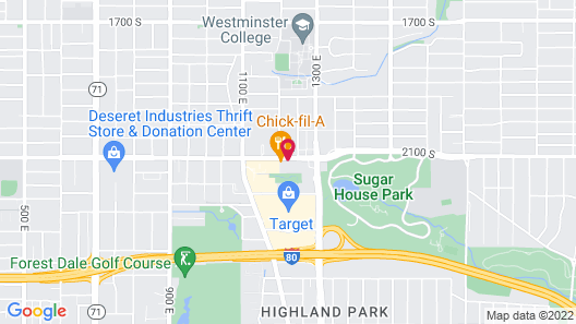 Extended Stay America Suites Salt Lake City Sugar House Map