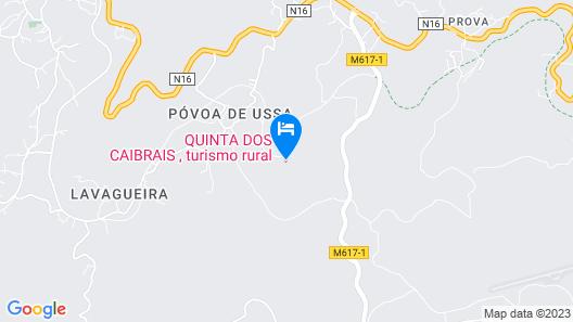 Quinta dos Caibrais Map