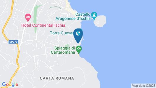 Strand Hotel Terme Delfini Map