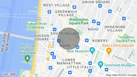 Luxury 2BR Penthouse in the Hearth of Soho Map