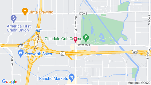 Hampton Inn Salt Lake City Central Map