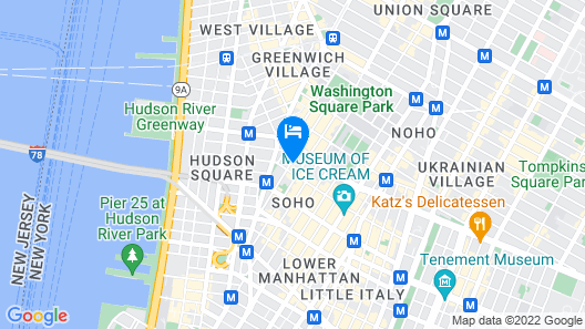 4- Chic and Cozy 2 Bedroom in Soho Map