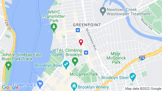 Green Point YMCA Map