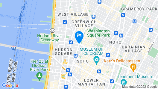 B's Mesmerizing 4 Bedroom Apartment In NYC Map