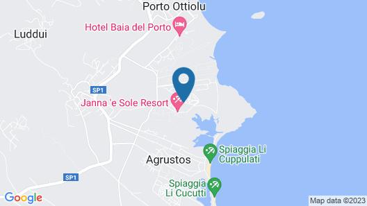 Janna e Sole Resort Map