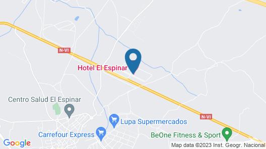 El Espinar Map