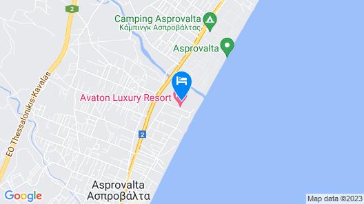 Avaton Luxury Resort Map