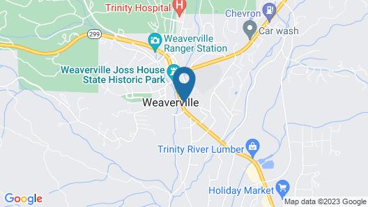 Weaverville Whitmore Inn Map