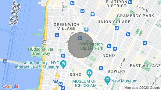 Heart & Soul OF Greenwich Village Map
