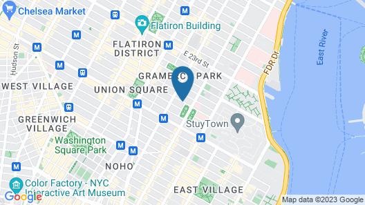 Hotel 17 Map