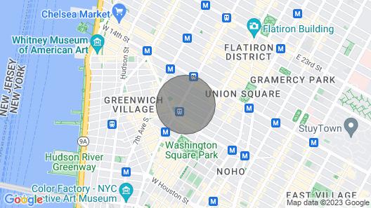 Downtown Designer Loft Map