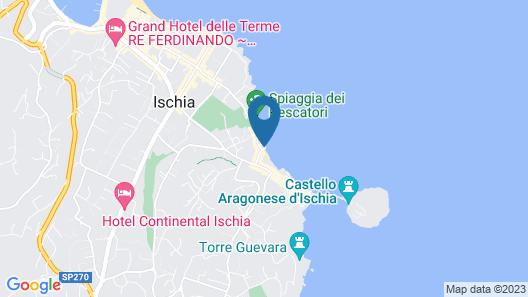 Miramare E Castello Hotel Map