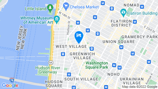 Two Bedroom Apartment in the Heart of the West Village Map