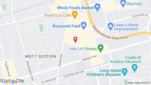 Residence Inn Long Island Garden City Map