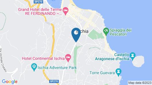 HOTEL ISOLAVERDE Map