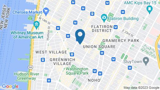 Walker Hotel Greenwich Village Map