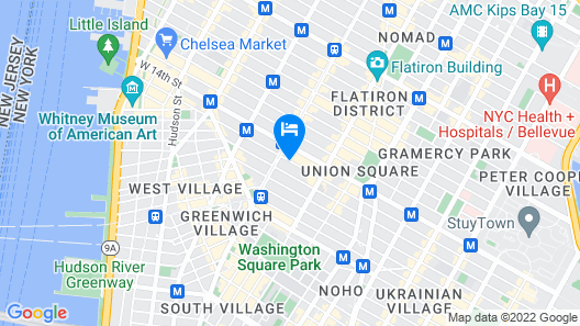 Walker Hotel Greenwich Village Map