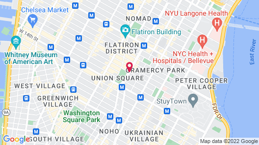 W New York - Union Square Map