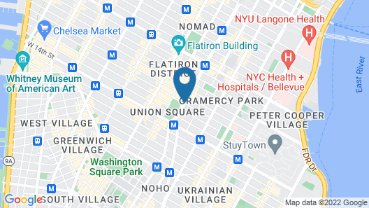 W New York - Union Square Map