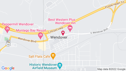 Knights Inn Wendover Map